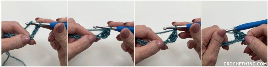 Learn to make a v-stitch tutorial 1