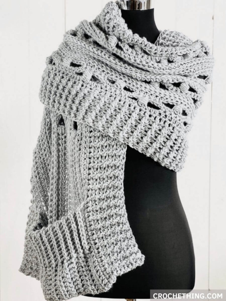 Pocket-Shawl-Blocked-Puff-Stitch-Blog-Crochething5-2